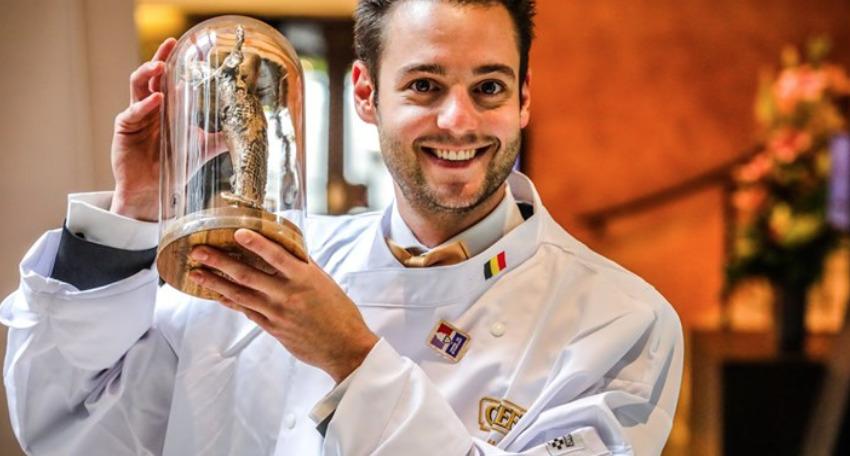 Proficiat Ruben als 'Eerste Kok van België 2021'