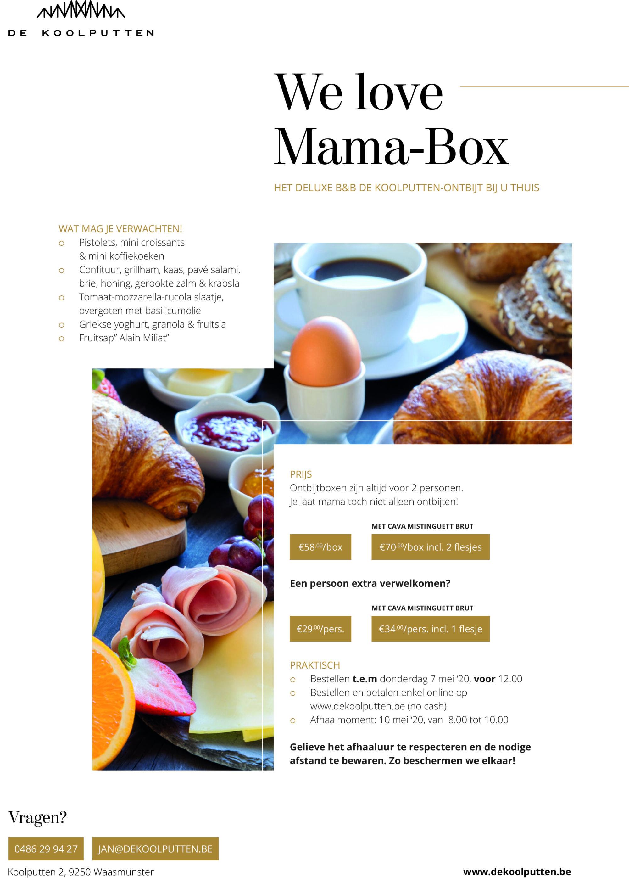 WE LOVE MAMA-BOX
