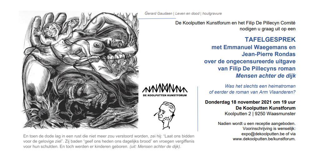 Kunstforum: Tafelgesprek 'Mensen achter de dijk' (ongecensureerd)